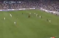 Gol de Beckham. Partido de liga. Real Madrid – Osasuna