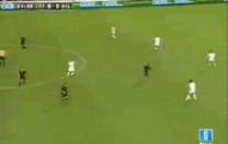 Gol de Luque. España – Bélgica