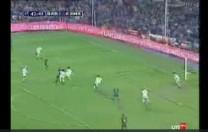Gol de Giovanni. Partido de Liga. Barcelona – Real Madrid