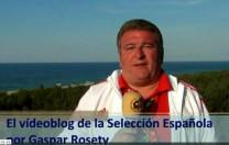 Gaspar Rosety Vídeoblog de la Selección Española, por Gaspar Rosety (13/06/2012)