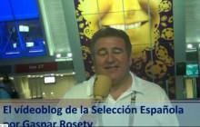Vídeoblog de la Selección Española, por Gaspar Rosety (23/06/2012)