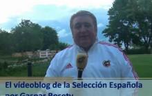 Vídeoblog de la Selección Española, por Gaspar Rosety (25/06/2012)