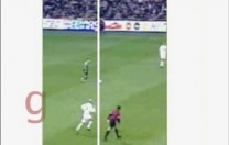 Gol de Fernando. Partido de Liga. Betis Real Madrid