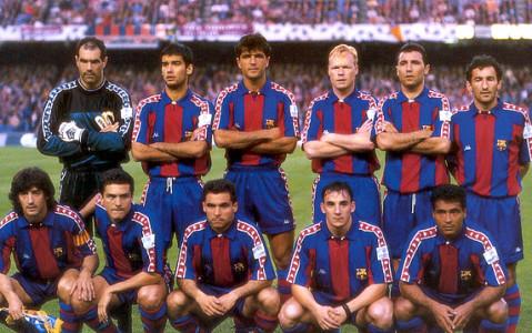 """Narración de un partido del Barça del """"dream team"""""""