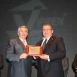 Con el presidente de la Fundación Viprem.