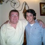 Con Aaron Guerrero.