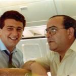 Con el Dr. Zafrilla, volando a Reikiavic.