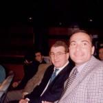 Con Antonio Jesús López Nieto en la gala de la Asociación Española de la prensa Deportiva.