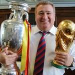 Con la Eurocopa 2008 y la Copa del Mundo 2010.