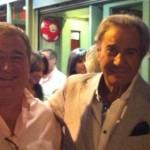 Con Arturo Fernández.