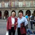 Con Malcolm Mahoney, mi profesor de ingles.