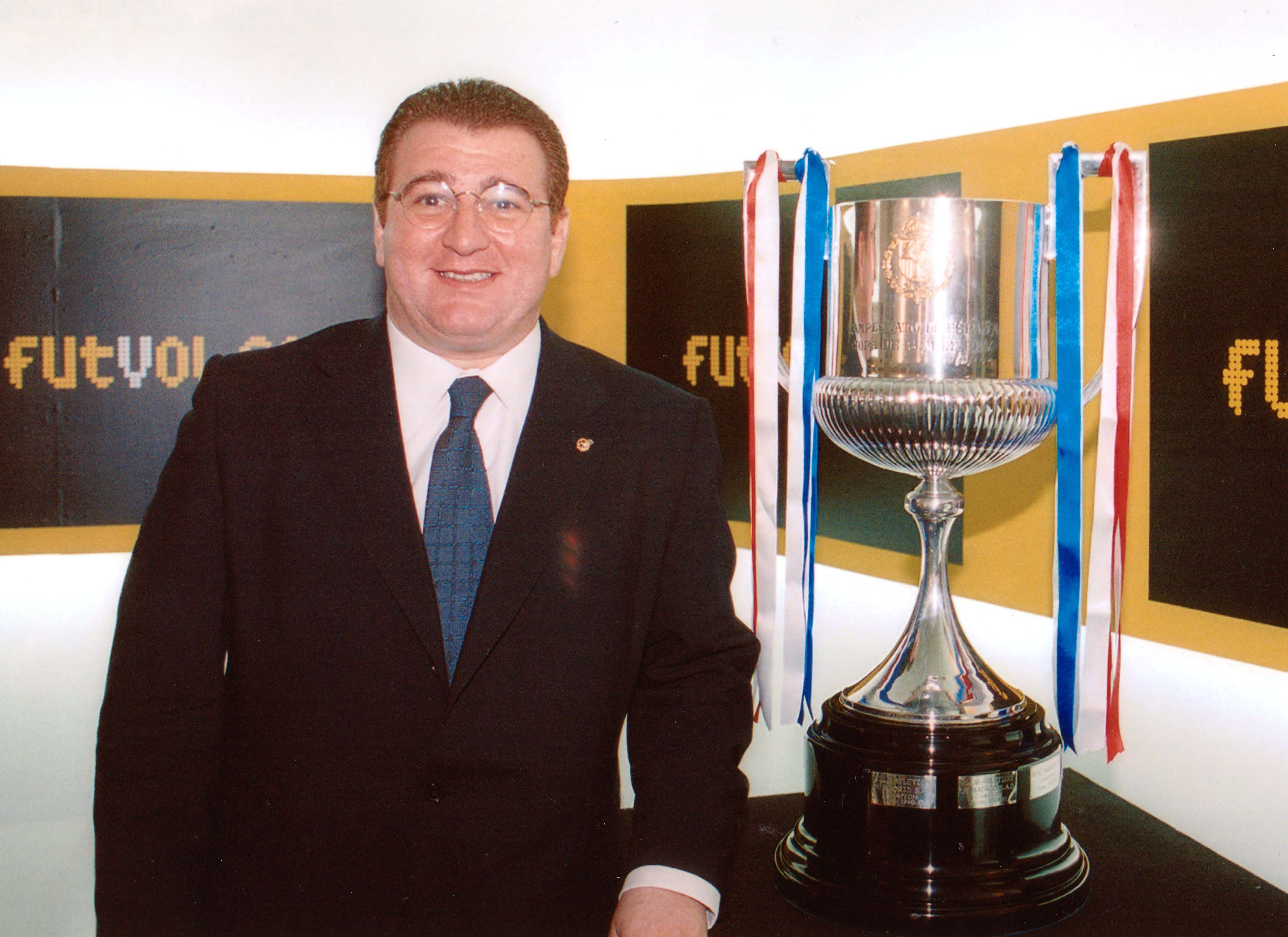 Copa del Rey del 2000 en Valencia.