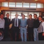 Con David Carradine, Miguel Ángel Adorno, Juanjo Puigcorbé y Rafa Gordillo.
