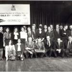 En la Gala de la Asociación Española de la Prensa Deportiva de 1989.
