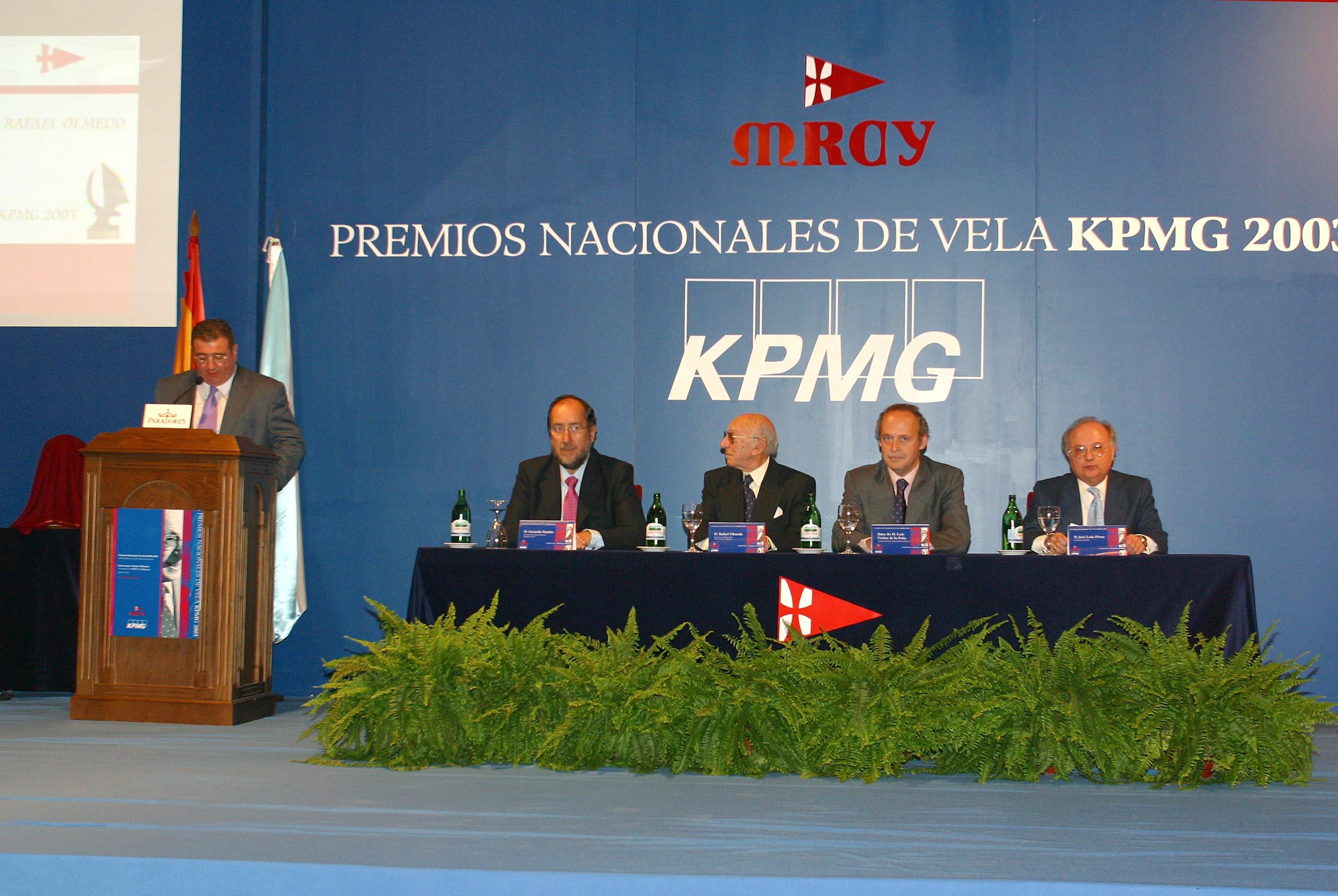 En Baina, en los Premios Nacionales de Vela.