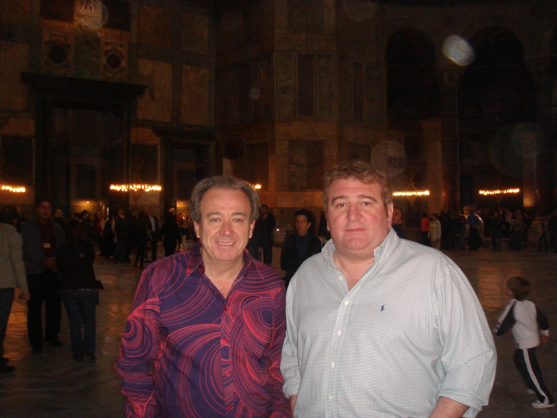 Con Pablo Ornaque.