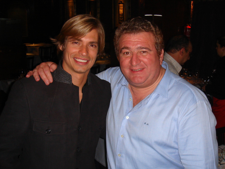 Con Carlos Baute.