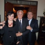Con Adela y Agustín Trialasos.