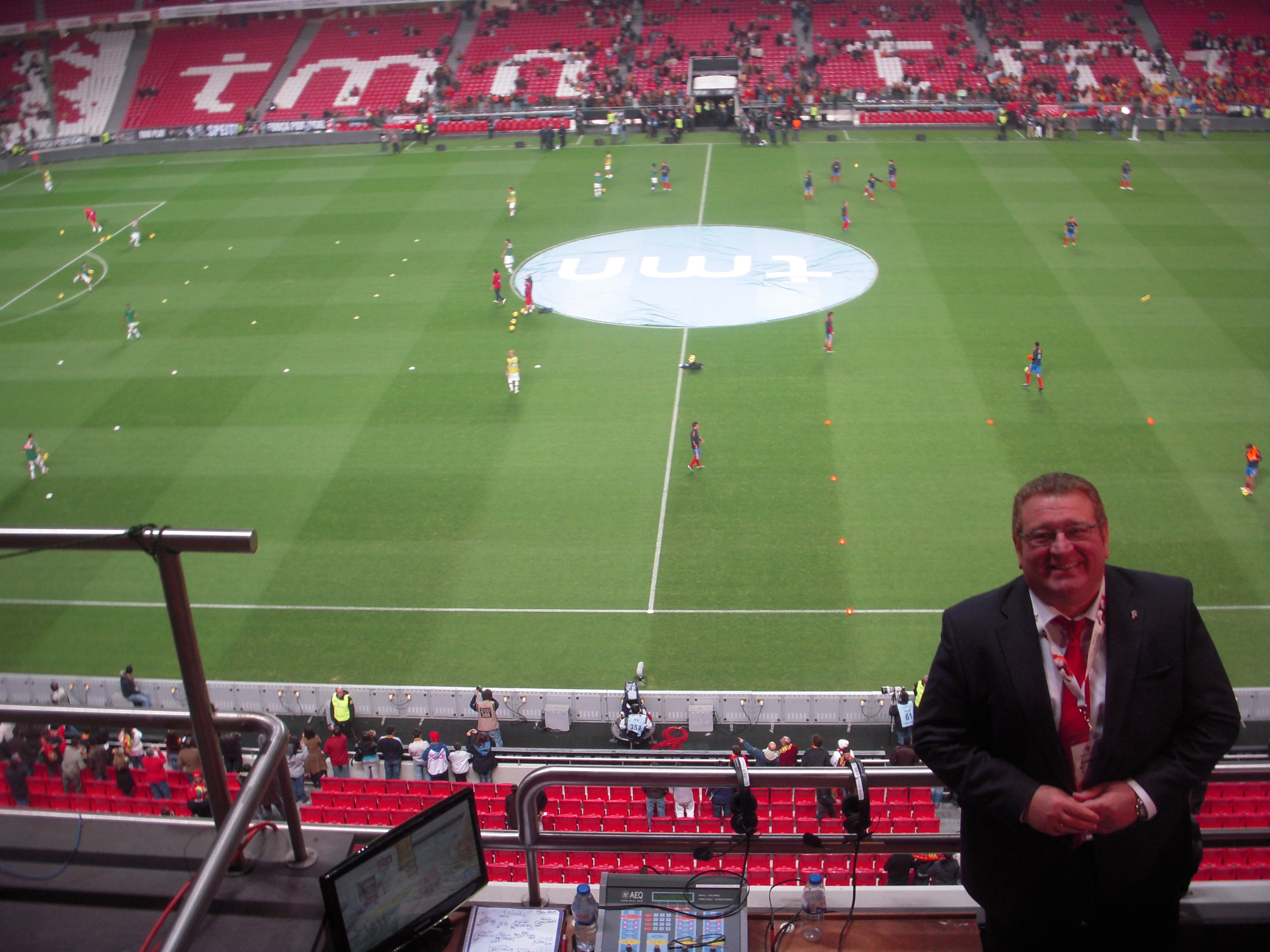 Estadio Da Luz, Benfica. 17 de noviembre de 2010.