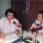 Entrevistando a Paco Llorente.