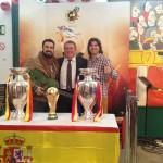 Con Toño Sanchís y Huecco