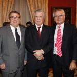 Con el Embajador de Mexico, D. Jorge Zermeno, y el abogado D. Manuel Medina Cuadros.