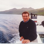 Cruzando entre las 17 Islas Feroe.