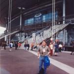En el Estadio Saint-Denis, el día de su inaguración.