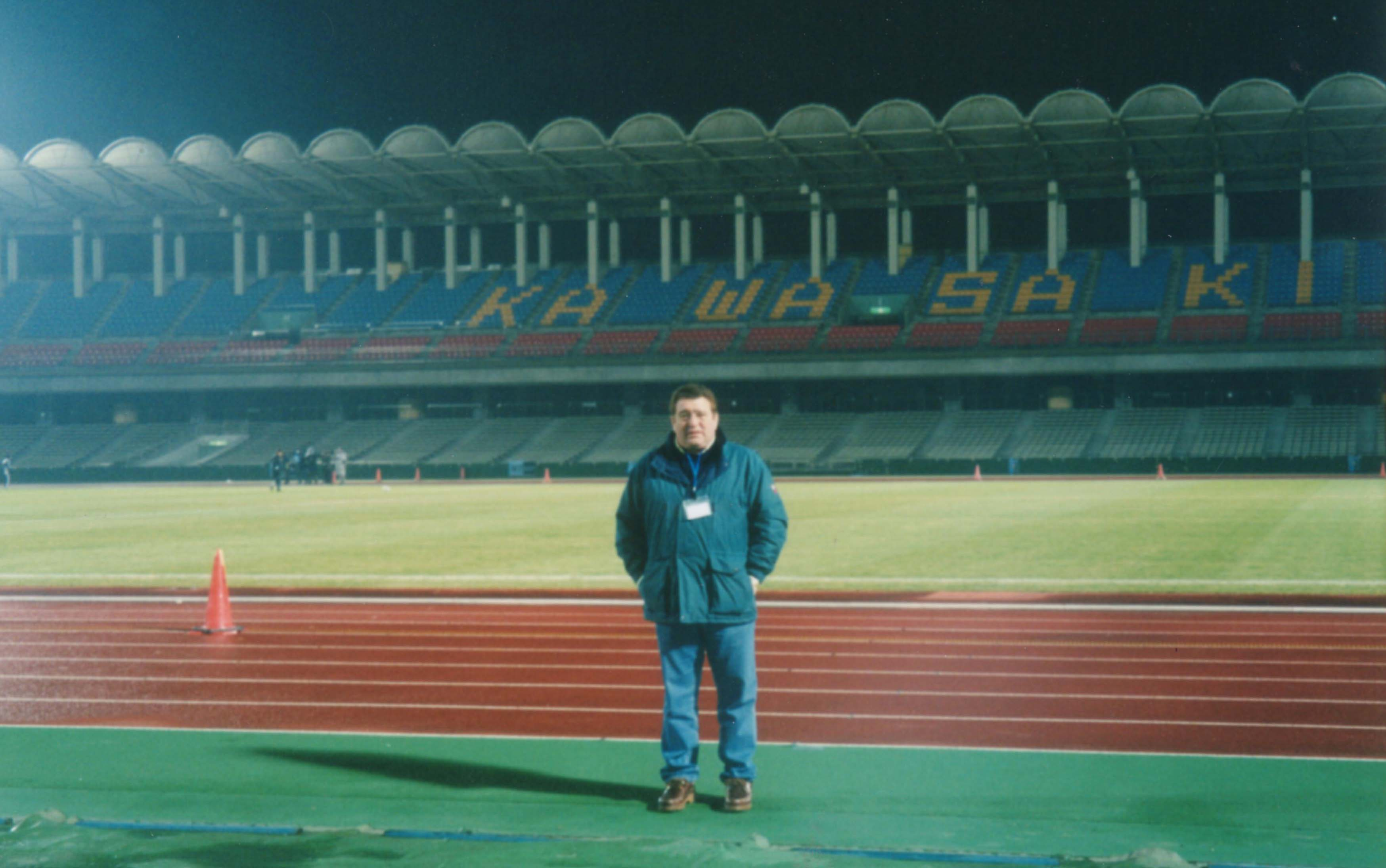 En el Estadio Kawasaki en Yokohama, Copa Intercontinental 2002.