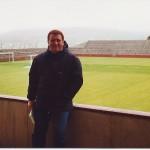 En el Estadio de Islas Feroe.