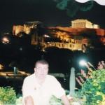 En la Acrópolis de Atenas.