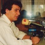 En los estudios de Antena 3 Radio.
