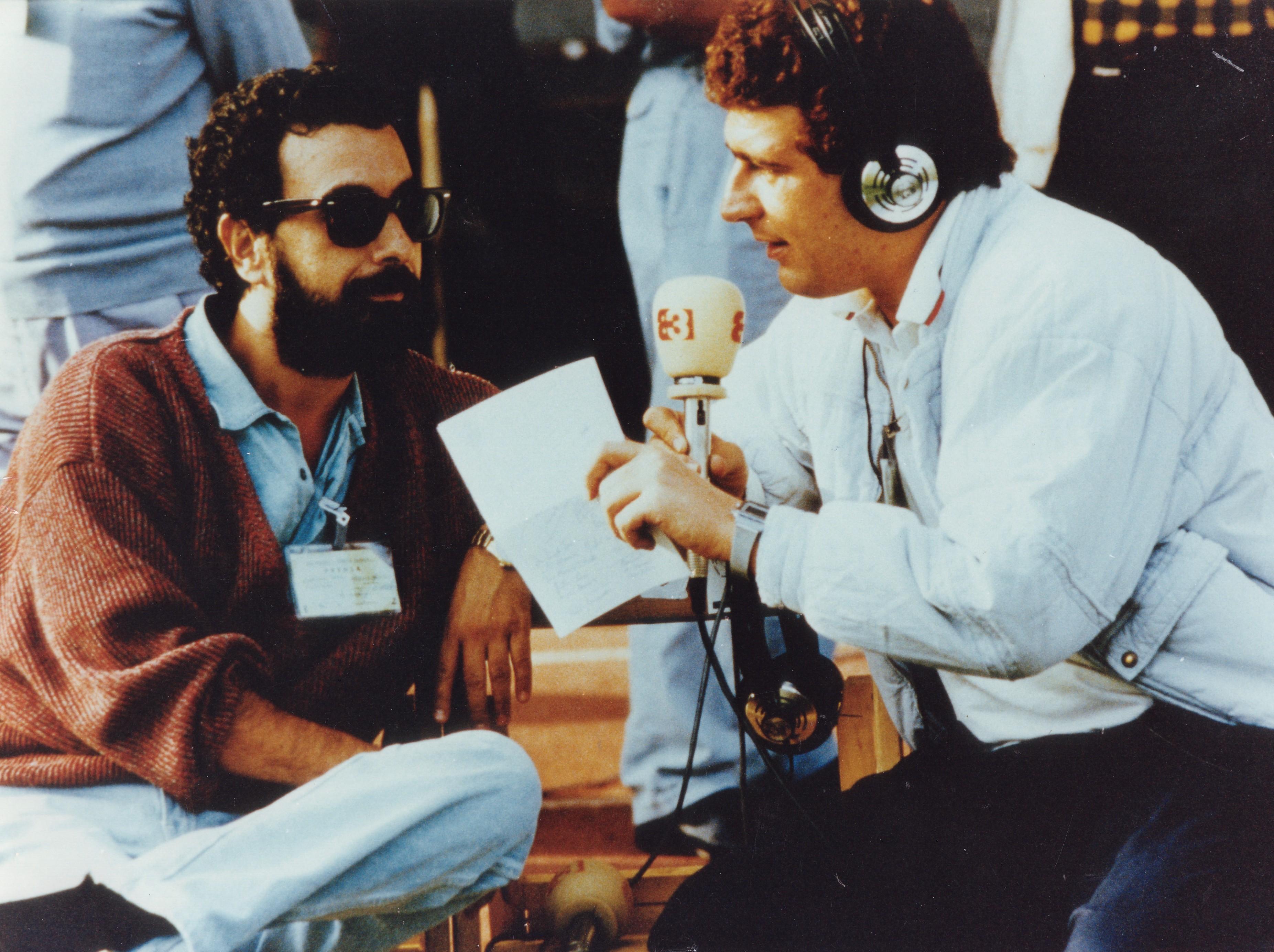 Comentando con José luis Garci el Teresa Herresa de 1985 para Antena 3.