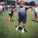 Aprendiendo fútbol americano en Illinois, Estados Unidos.