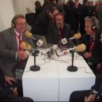 En la radio con Juan José, Bonet y López Ufarte.