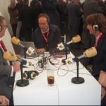 Entrevistando a Julen Guerrero y Rafa Gordillo.