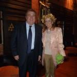 Con la Princesa Beatriz de Orleans.