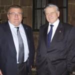 Con  el Doctor D. Valentín Fuster, director de cardiología del Hospital Monte Sinaí de Nueva York.