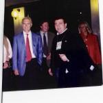 """Con Franz Beckenbauer, """"el Káiser""""."""