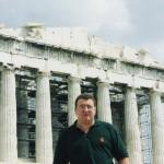 Visitando el Partenon de Athenas.