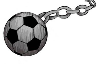 Resultado de imagen para fotos esclavos del futbol