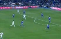 Gol de Zidane. Partido de Liga. Real Madrid – Espanyol