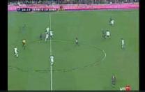 Gol de Etoo. Partido de Liga. Barcelona – Real Madrid