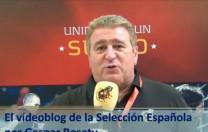 Vídeoblog de la Selección Española, por Gaspar Rosety (08/06/2012)