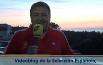 Vídeoblog de la Selección Española, por Gaspar Rosety (11/06/2012)