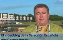 Vídeoblog de la Selección Española, por Gaspar Rosety (12/06/2012)