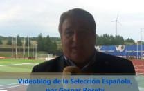 Vídeoblog de la Selección Española, por Gaspar Rosety (16/06/2012)