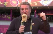 Vídeoblog de la Selección Española, por Gaspar Rosety (17/06/2012)