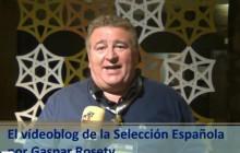 Vídeoblog de la Seleccin Española, por Gaspar Rosety (18/06/2012)