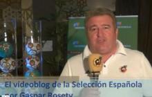 Vídeoblog de la Selección Española, por Gaspar Rosety (19/06/2012)